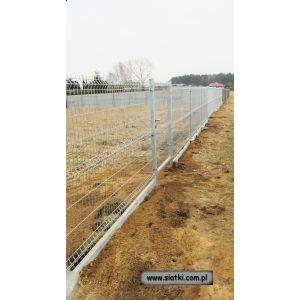 Panel ogrodzeniowy ocynkowany 3W-1710mm z drutu 4/5 mm