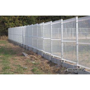 Panel ogrodzeniowy ocynkowany  4W-2000 mm z drutu 5 mm