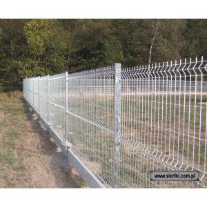 Panel ogrodzeniowy ocynkowany  4W-2400 mm z drutu 5 mm